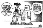Cartoonist Mike Peters  Mike Peters' Editorial Cartoons 2001-10-07 Afghanistan