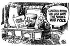 Cartoonist Mike Peters  Mike Peters' Editorial Cartoons 2002-10-16 house