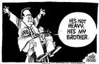 Cartoonist Mike Peters  Mike Peters' Editorial Cartoons 2002-10-20 Jeb Bush