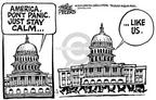 Cartoonist Mike Peters  Mike Peters' Editorial Cartoons 2001-10-22 leadership