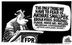 Cartoonist Mike Peters  Mike Peters' Editorial Cartoons 2001-10-24 Franklin Roosevelt