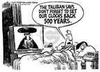 Cartoonist Mike Peters  Mike Peters' Editorial Cartoons 2001-10-28 Afghanistan
