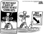 Cartoonist Mike Peters  Mike Peters' Editorial Cartoons 2005-09-23 public