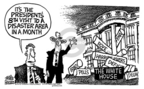 Cartoonist Mike Peters  Mike Peters' Editorial Cartoons 2005-10-13 public