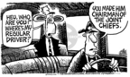 Cartoonist Mike Peters  Mike Peters' Editorial Cartoons 2005-10-14 presidential appointment