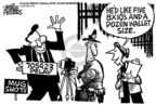 Cartoonist Mike Peters  Mike Peters' Editorial Cartoons 2005-10-23 politics