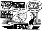 Cartoonist Mike Peters  Mike Peters' Editorial Cartoons 2005-11-17 Viagra