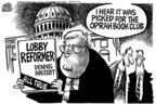 Cartoonist Mike Peters  Mike Peters' Editorial Cartoons 2006-01-14 politics