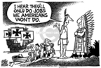 Cartoonist Mike Peters  Mike Peters' Editorial Cartoons 2006-04-01 cost