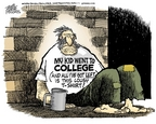 Cartoonist Mike Peters  Mike Peters' Editorial Cartoons 2006-10-26 education