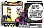 Cartoonist Mike Peters  Mike Peters' Editorial Cartoons 2006-12-16 cheese