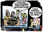 Cartoonist Mike Peters  Mike Peters' Editorial Cartoons 2007-01-21 sing