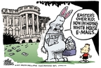 Cartoonist Mike Peters  Mike Peters' Editorial Cartoons 2007-04-15 politics