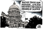 Cartoonist Mike Peters  Mike Peters' Editorial Cartoons 2007-04-19 legislation
