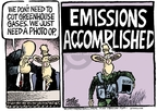 Cartoonist Mike Peters  Mike Peters' Editorial Cartoons 2007-06-01 climate