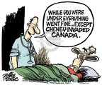Cartoonist Mike Peters  Mike Peters' Editorial Cartoons 2007-07-20 Canada