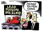 Cartoonist Mike Peters  Mike Peters' Editorial Cartoons 2007-08-04 chinese