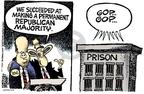 Cartoonist Mike Peters  Mike Peters' Editorial Cartoons 2007-08-13 politics