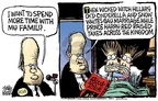 Cartoonist Mike Peters  Mike Peters' Editorial Cartoons 2007-08-14 politics
