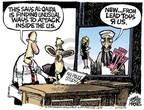 Cartoonist Mike Peters  Mike Peters' Editorial Cartoons 2007-08-16 chinese