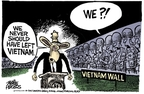 Cartoonist Mike Peters  Mike Peters' Editorial Cartoons 2007-08-22 Vietnam
