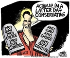 Cartoonist Mike Peters  Mike Peters' Editorial Cartoons 2007-12-07 politics