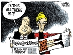 Cartoonist Mike Peters  Mike Peters' Editorial Cartoons 2008-02-21 Cindy McCain