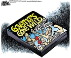 Cartoonist Mike Peters  Mike Peters' Editorial Cartoons 2008-03-19 politics