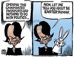 Cartoonist Mike Peters  Mike Peters' Editorial Cartoons 2008-03-24 politics