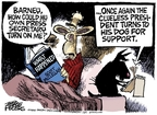 Cartoonist Mike Peters  Mike Peters' Editorial Cartoons 2008-05-28 turn