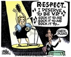Cartoonist Mike Peters  Mike Peters' Editorial Cartoons 2008-06-05 sing