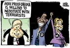 Cartoonist Mike Peters  Mike Peters' Editorial Cartoons 2008-06-06 politics
