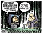 Cartoonist Mike Peters  Mike Peters' Editorial Cartoons 2008-06-13 Vietnam