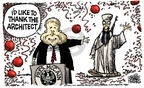 Cartoonist Mike Peters  Mike Peters' Editorial Cartoons 2008-06-24 presidential