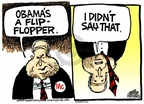 Cartoonist Mike Peters  Mike Peters' Editorial Cartoons 2008-07-17 presidential