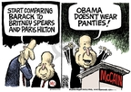 Cartoonist Mike Peters  Mike Peters' Editorial Cartoons 2008-07-31 presidential