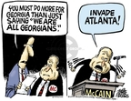Cartoonist Mike Peters  Mike Peters' Editorial Cartoons 2008-08-13 presidential