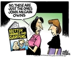 Cartoonist Mike Peters  Mike Peters' Editorial Cartoons 2008-08-22 presidential