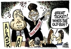 Cartoonist Mike Peters  Mike Peters' Editorial Cartoons 2008-09-03 republican politician