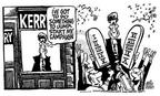 Cartoonist Mike Peters  Mike Peters' Editorial Cartoons 2003-11-16 politics