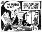 Cartoonist Mike Peters  Mike Peters' Editorial Cartoons 2001-11-17 Afghanistan
