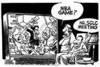 Cartoonist Mike Peters  Mike Peters' Editorial Cartoons 2004-11-27 basketball