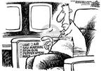 Cartoonist Mike Peters  Mike Peters' Editorial Cartoons 2001-12-13 safeguard