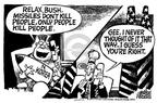 Cartoonist Mike Peters  Mike Peters' Editorial Cartoons 2002-12-13 house