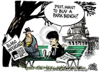 Cartoonist Mike Peters  Mike Peters' Editorial Cartoons 2009-01-09 impeachment