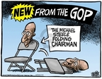 Cartoonist Mike Peters  Mike Peters' Editorial Cartoons 2009-03-14 republican politician