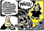 Cartoonist Mike Peters  Mike Peters' Editorial Cartoons 2009-05-29 republican politician