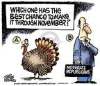 Cartoonist Mike Peters  Mike Peters' Editorial Cartoons 2009-11-05 Thanksgiving