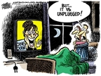 Cartoonist Mike Peters  Mike Peters' Editorial Cartoons 2009-11-27 public relations