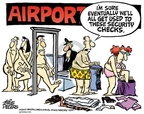 Cartoonist Mike Peters  Mike Peters' Editorial Cartoons 2009-12-30 air travel
